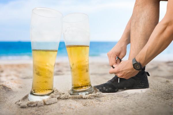 Alkohol wdiecie sportowca