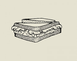 Pasta twarogowa złososiem, szpinakiem iawokado