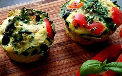 Muffiny jajeczno-warzywne