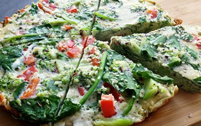 Warzywny omlet śniadaniowy