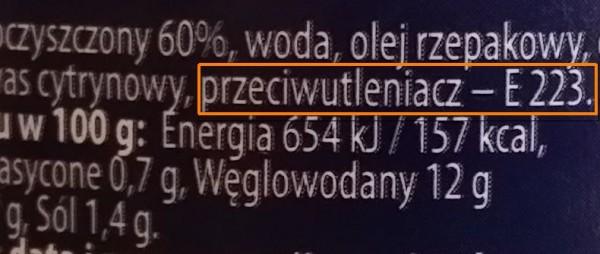 """Dodatki """"E"""". Czydzisiejsza żywność """"to sama chemia""""?"""