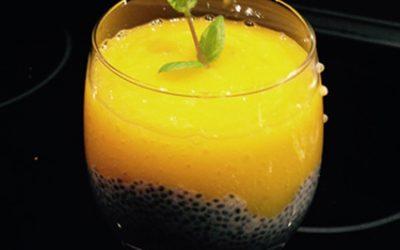 Pudding chia zmusem zmango