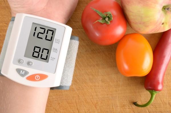 Nadciśnienie: więcej warzyw iowoców!