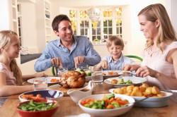 Wspólne posiłki wdomu zapobiegają nadwadze iotyłości udzieci imłodzieży