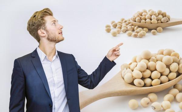 Soja dla mężczyzn – jeść czyniejeść?